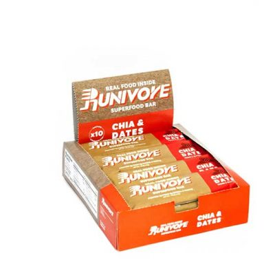 Runivore Chia & Dates Superfood Bar (Box of 10) – Mother Nature did the heavy lifting, we just combined tasty foods into an awesome bar