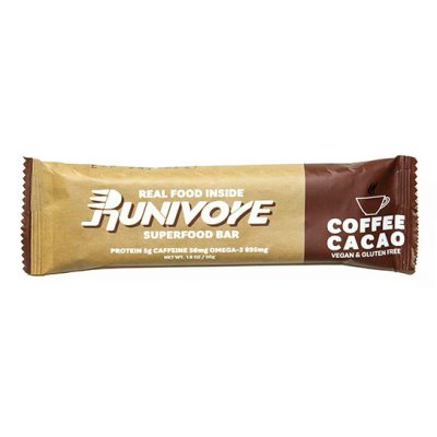 Runivore Coffee Cacao Superfood Bar (1 Bar) – The deliciousness and power of chia, cacao and coffee