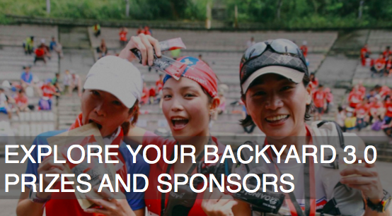EXPLORE YOUR BACKYARD PRIZES AND SPONSORS