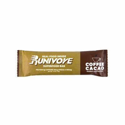 Runivore 咖啡可可子能量棒 (1入) – 含有香濃咖啡與美味可可子的運動能量棒