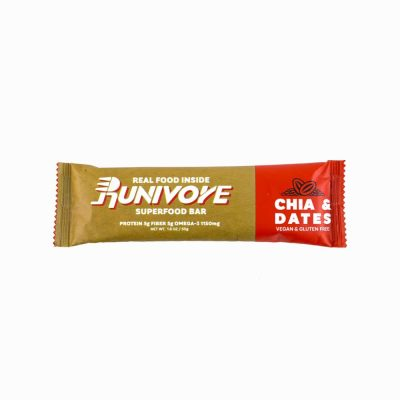 Runivore Chia & Dates Superfood Bar (1 Bar) – Mother Nature did the heavy lifting, we just combined tasty foods into an awesome bar