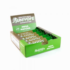 Runivore Mega Matcha Superfood Bar (Box of 10) – Delicious Green Tea Energy Bars