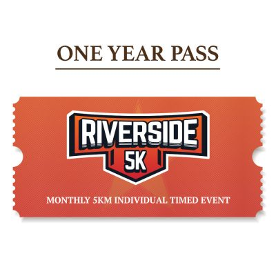 Runivore Riverside 5K – YEARLY PASS